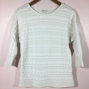 Banana Republic Cable Knit Top Fall Essential